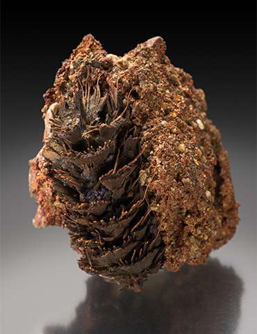 Copper with Cuprite (After Pinecone)